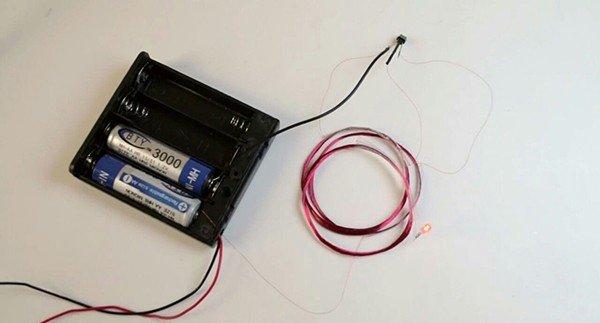 трансформатор от батарейки