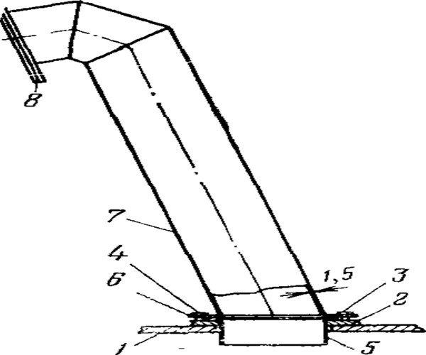 Труба Выхлопная трансформатора
