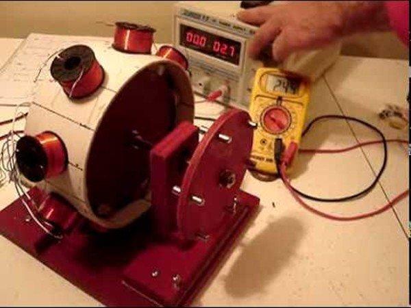 Безтоплевный генератор