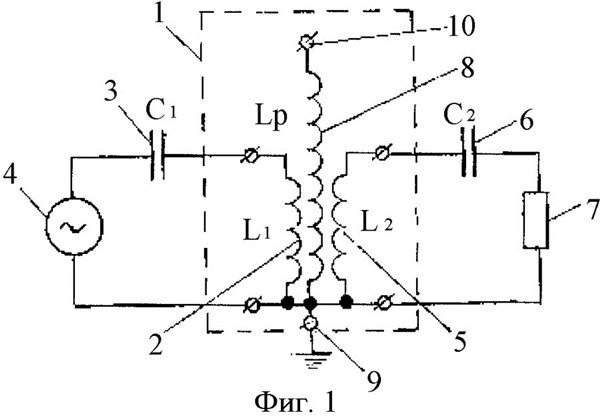 Схема Высокочастотный трансформатор