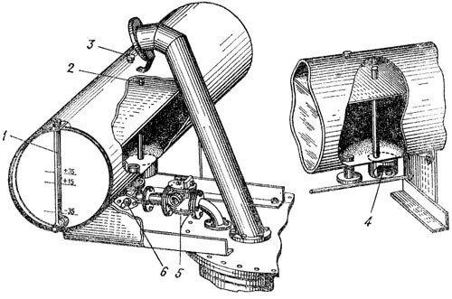 схема выхлопной трубы трансформатора