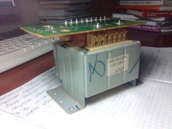 Трансформатор от музыкального центра