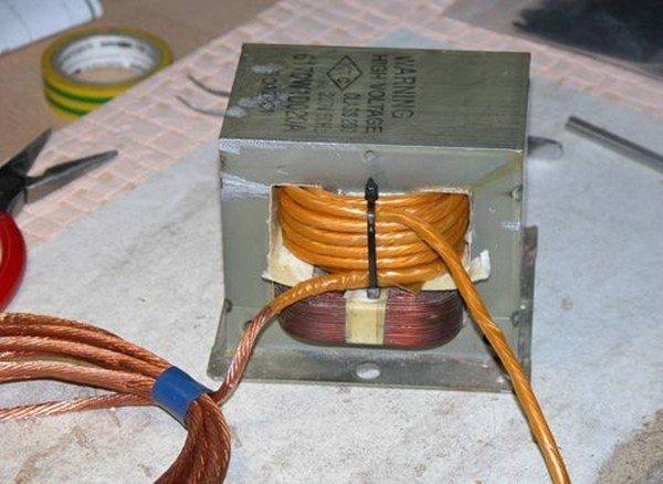 Споттер из двух трансформаторов