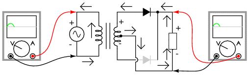 Схема с 2 вольтметрами