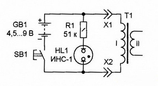 Полная схема о короткозамкнутом витке в трансформаторе