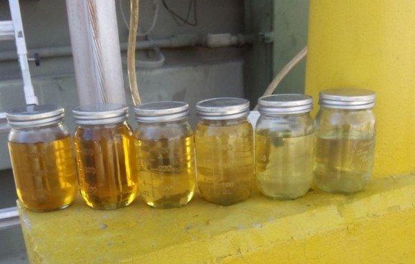 Разные виды масел для трансформатора