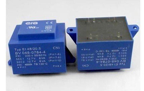 Синий трансформатор герметичный