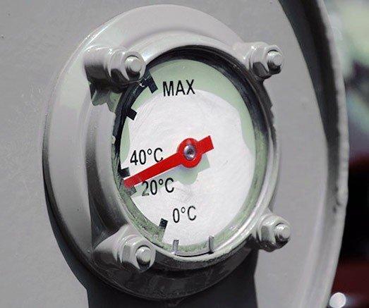 Измеритель уровня масла в трансформаторе
