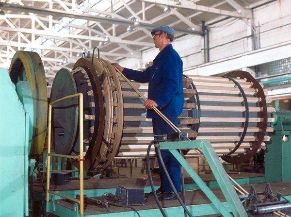 Ремонт расширителя на силовом трансформаторе