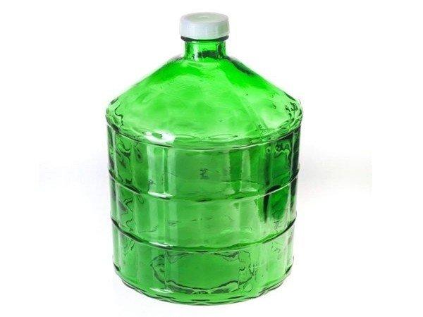 Стеклянная емкость для масла трансформатора