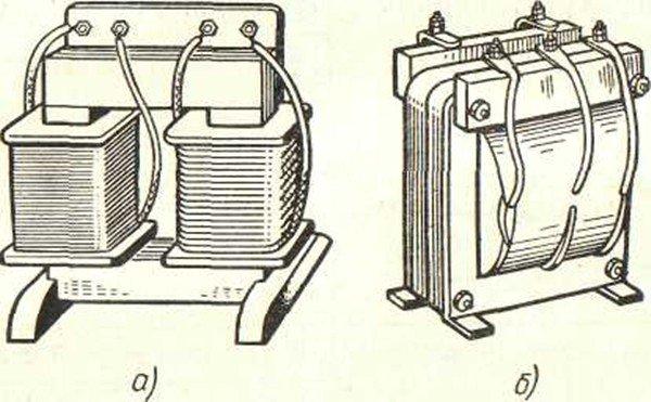 Трансформатор стержневого типа