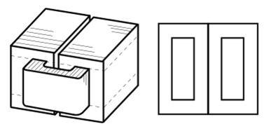 Обмотка центрального стержня