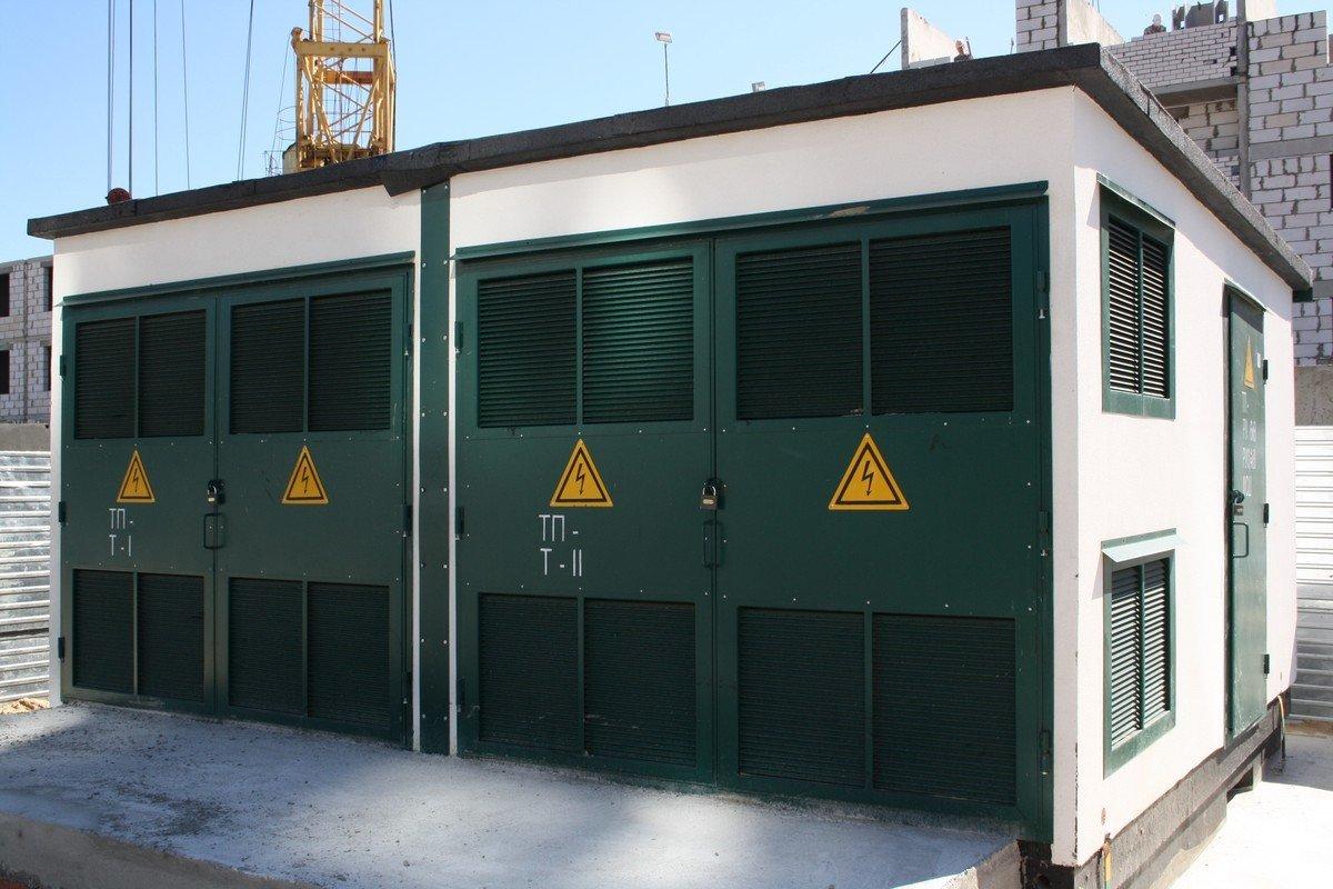 Трансформаторные подстанции зимой