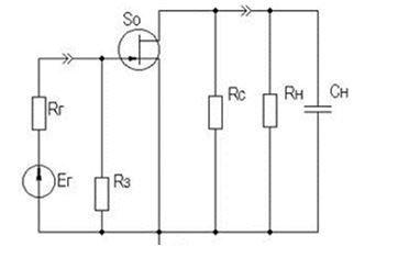 Схема устройства для низких частот