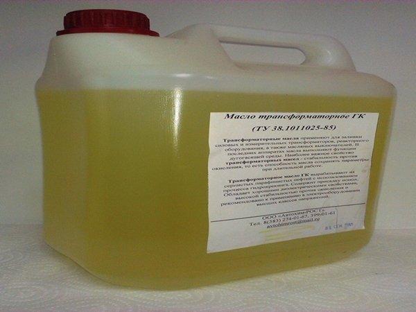Канистра трансформаторного масла ГК
