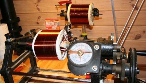 намотка провода на катушку трансформатора