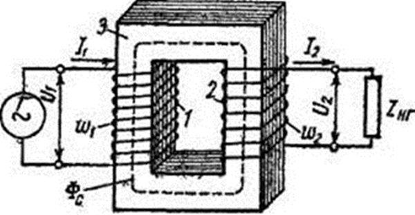 Двухобмоточный трансформатор