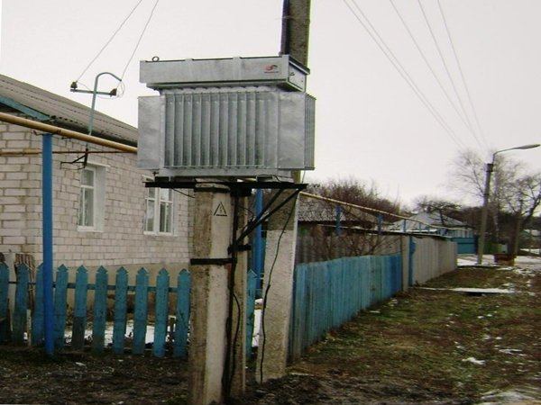 Трансформатор на улице