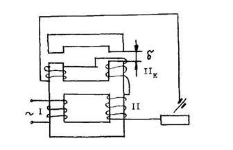 Схема трансформатора по функциональным характеристикам
