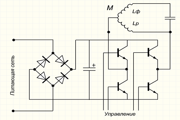 Схема подключения вторичной обмотки трансформатора