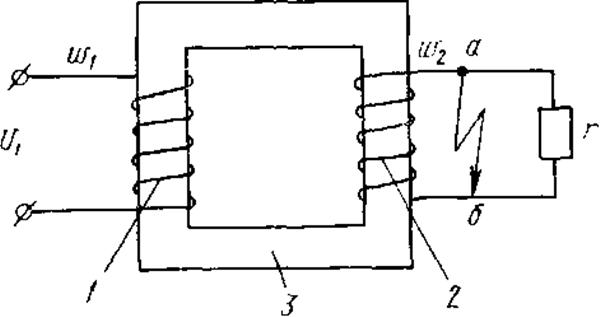 силовой трансформатор короткое замыкание