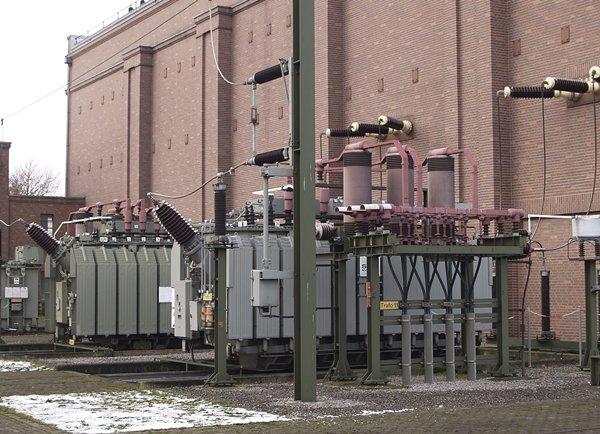 Трансформаторы на заводе