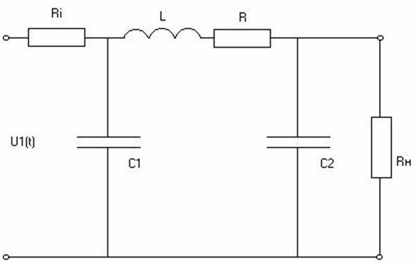 схема импульсного трансформатора