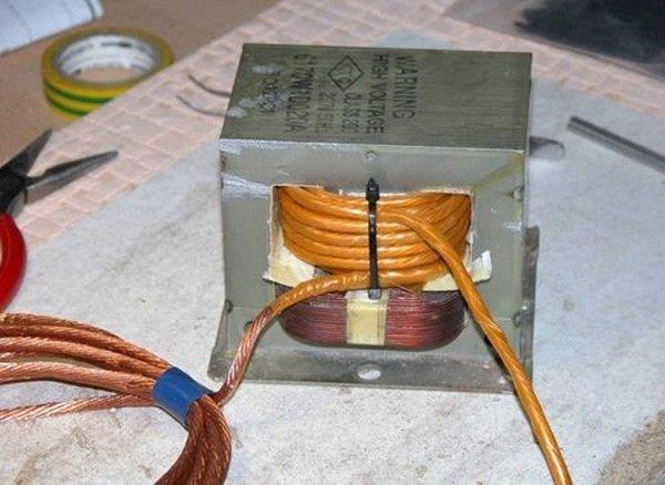 вв трансформатор от микроволновки