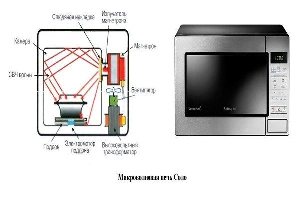 камера микроволновой печи