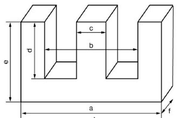 Магнитопровод Ш-образной формы