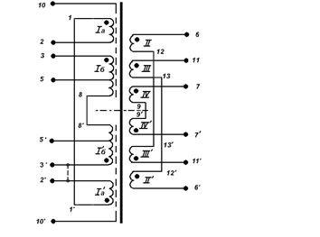 Схема подключения ТС 80 1