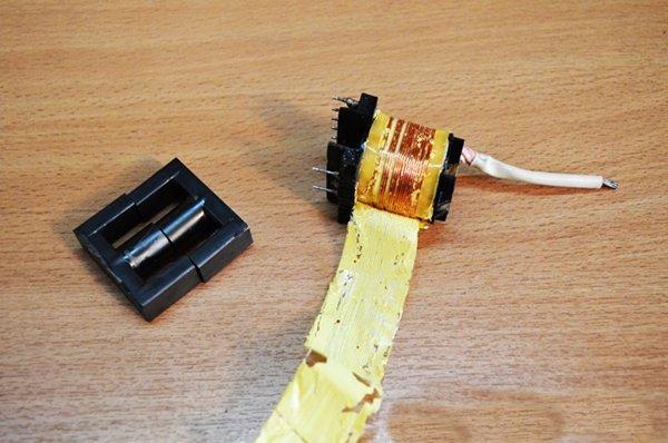 намотка импульсного трансформатора