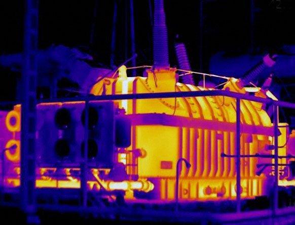 Тепловизионное обследование трансформатора