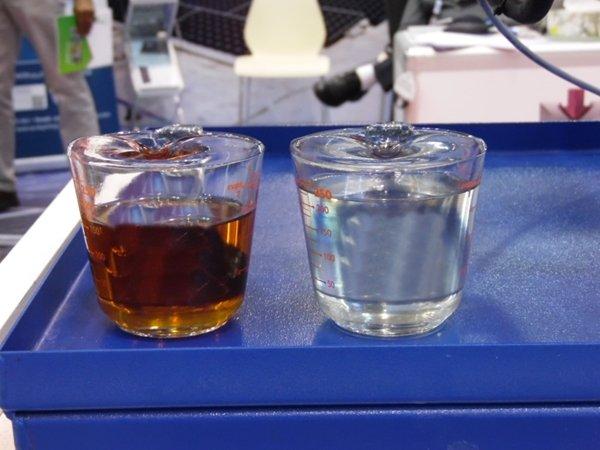Чистка и дегазация масла