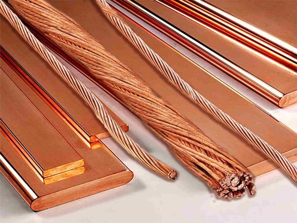 Медные проводники трансформатора