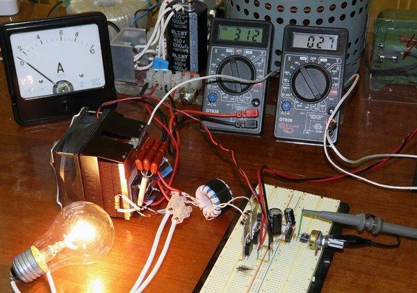индукционный нагрев трансформатора