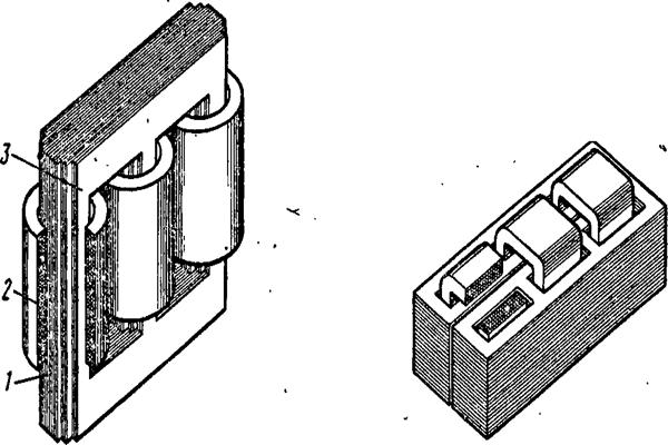 Стержневой магнитопровод